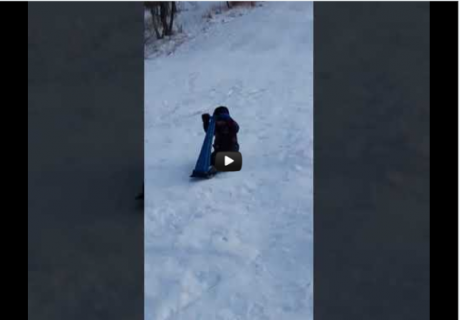 SleddingWithDaddy